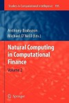 Natural Computing in Computational Finance: Volume 2 - Anthony Brabazon, Michael O'Neill
