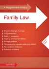 Straightforward Guide to Family Law - David Bryan