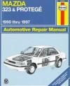 Mazda 323 & Protege: Automotive Repair Manual - Louis Ledoux, John Harold Haynes