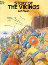 Story of the Vikings Coloring Book - Albert Gary Smith