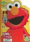 Sesame Street Elmo & Friends: Super Fun Book to Color [With Crayons] - Dalmatian Press