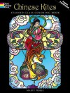 Chinese Kites Stained Glass Coloring Book - Marty Noble