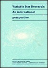 Variable Star Research: An International Perspective - John R. Percy