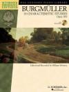Burgmuller: 18 Characteristic Studies Opus 109 - Friedrich Burgmüller