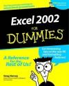 Excel 2002 For Dummies - Greg Harvey, Rich Tennant