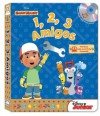 Handy Manny: 1,2,3 Amigos [With CD (Audio)] - Laura Gates Galvin