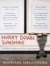 Hurry Down Sunshine - Michael Greenberg