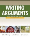 Writing Arguments: A Rhetoric with Readings, Concise Edition, with New Mycomplab Student Access Code Card - John D. Ramage, John C. Bean, June C. Johnson