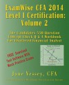 2014 Cfa Level I Certification Examwise Volume 2 the Candidates Question & Answer Workbook for Chartered Financial Analyst Exam with Download Software - Jane Vessey