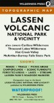 Lassen Volcanic National Park and Vicinity Topographical Map - Wilderness Press