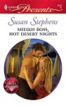 Sheikh Boss, Hot Desert Nights (Undressed by the Boss #5) (Harlequin Presents #2842) - Susan Stephens