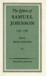 The Letters Of Samuel Johnson - Samuel Johnson, Bruce Redford