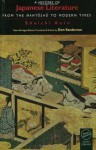 A History of Japanese Literature: From the Manyoshu to Modern Times - Shuichi Kato