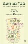 Stance and Voice in Written Academic Genres - Carmen Sancho Guinda, Ken Hyland, Professor Ken Hyland