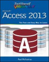 Teach Yourself Visually Access 2013 (Teach Yourself VISUALLY (Tech)) - Faithe Wempen, Paul McFedries