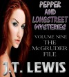 Pepper and Longstreet ~The McGruder Files (Vol. 9) - J.T. Lewis