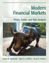 Modern Financial Markets: Prices, Yields and Risk Analysis - David W. Blackwell, Mark D. Griffiths