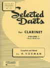 Selected Duets for Clarinet: Volume 1 - Easy to Medium (Rubank Educational Library) - H. Voxman