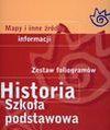 Historia. Zestaw foliogramów. Szkoła podstawowa. Segregator - Elżbieta Olczak