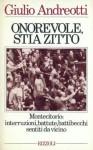 Onorevole, stia zitto - Giulio Andreotti