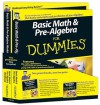 Basic Math and Pre-Algebra for Dummies Education Bundle [With Workbook] - Mark Zegarelli