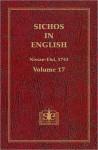 Sichos In English: Volume 17 – Nissan-Elul, 5743 - Menachem M. Schneerson
