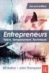 Entrepreneurs: Talent, Temperament, Technique - Bill Bolton, John Thompson