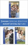 Harlequin Special Edition August 2015 - Box Set 1 of 2: Do You Take This Maverick?The Boss, the Bride & the BabyA Reunion and a Ring - Marie Ferrarella, Judy Duarte, Gina Wilkins