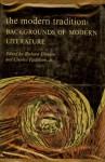 The Modern Tradition: Background of Modern Literature - Richard Ellmann