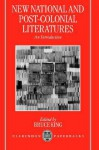 New National Post-Colonial Literatures - An Introduction - Bruce King