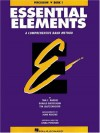 Essential Elements Book 1 - Percussion - Rhodes Biers, Tim Lautzenheiser, Biers, Donald Bierschenk, Linda Petersen, John Higgins