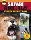 Safari Animals Sticker Activity Book - Sally Morgan