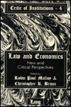 Law and Economics: New and Critical Perspectives - Robin Paul Malloy