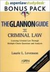Glannon Guide to Criminal Law: AspenLaw Studydesk Bonus Pack (Print and Access Card Bundle) - Laurie L. Levenson