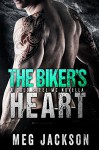 The Biker's Heart: A Cold Steel Motorcycle Club Romance Novella - Meg Jackson
