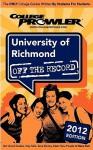 University of Richmond 2012: Off the Record - Laura DiLibero, Peter Hansen