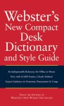 Webster's New Compact Desk Dictionary and Style Guide - Michael E. Agnes