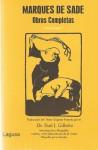 MARQUES DE SADE, Obras Completas, (Tomo Primero). - Marquis de Sade