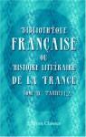 Bibliothèque française, ou Histoire littéraire de la France: Tome 9, Parties 1, 2 (French Edition) - Unknown author