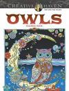 Creative Haven Owls Coloring Book (Creative Haven Coloring Books) - Marjorie Sarnat