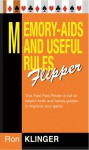 Memory-Aids and Useful Rules Flipper - Ron Klinger