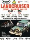 Landcruiser Petrol/Gasoline 4 & 6 cyl 1969-90 Auto Repair Manual-Toyota FJ,RJ,40's 55's 70's Bundera - Max Ellery