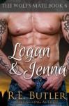 Logan & Jenna (The Wolf's Mate, #6) - R.E. Butler