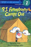 P. J. Funnybunny Camps Out (Step into Reading) - Marilyn Sadler, Roger Bollen