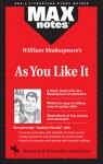 As You Like It (MAXNotes Literature Guides) - Michael Morrison, English Literature Study Guides