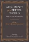 Arguments for a Better World: Essays in Honor of Amartya Sen: Volume I: Ethics, Welfare, and Measurement: 1 - Kaushik Basu, Ravi Kanbur