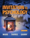 Invitation to Psychology Plus New Mypsychlab with Pearson Etext -- Access Card Package - Carole Wade, Carol Tavris