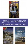 Love Inspired Suspense October 2015 - Box Set 1 of 2: Her Holiday ProtectorChristmas UndercoverThe Marshal's Runaway Witness (Love Inspired Suspense October Boxset) - Lenora Worth, Hope White, Diane Burke