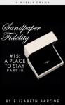 "Sandpaper Fidelity #15: ""A Place to Stay, Part III"" - Elizabeth Barone"