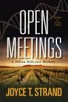 Open Meetings - Joyce T. Strand